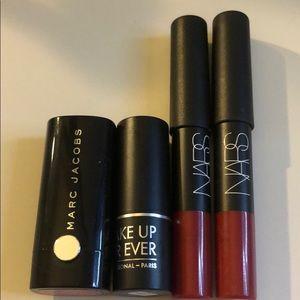 NEW Lip Bundle Marc Jacobs, NARS, & Makeup Forever